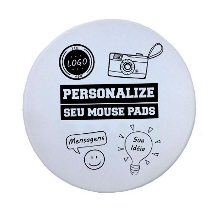Mouse Pad Personalizado Redondo