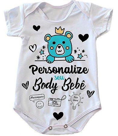 Body Personalizado Bebê