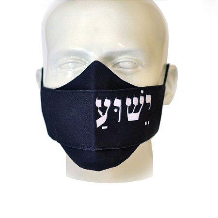 Máscara Jesus hebraico - modelo 3D (Preto)