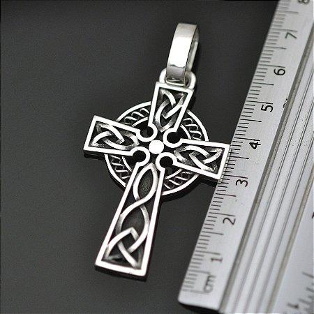 Cruz celta em prata 950k (P)