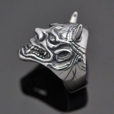Anel de Samurai Hanya em prata 950K