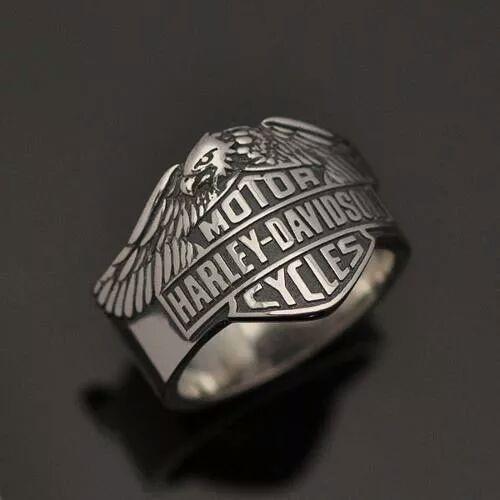Anel Harley-Davidson Águia Em Prata 950K