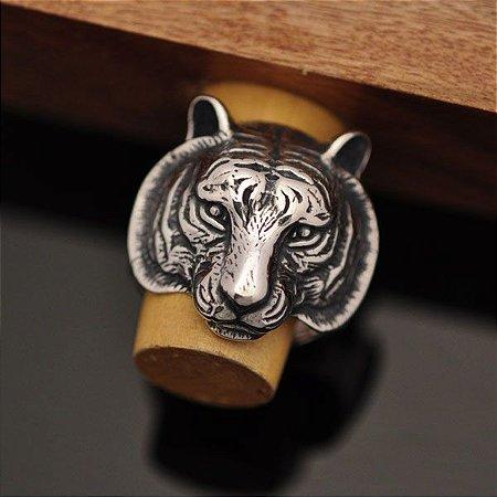 Anel Tigre em Prata 950k