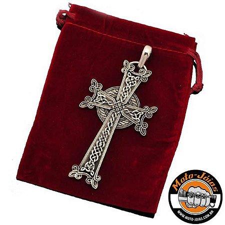 Cruz Armênia Peitoral em prata 950k