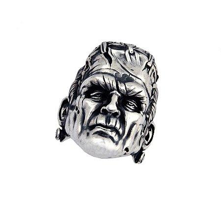 Anel Frankenstein em Prata 950k