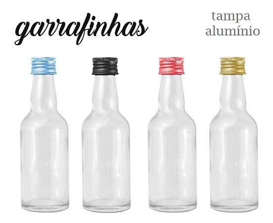 GARRAFINHA COM TAMPA DE ALUMINIO