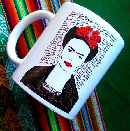 Caneca Frida Kahlo e desabafos