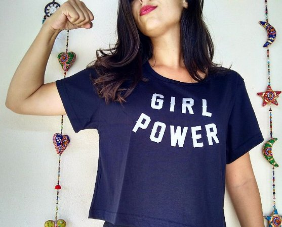 Camiseta/Cropped - GIRL POWER