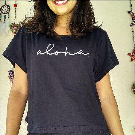 Camiseta/Cropped - Aloha