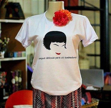 Camiseta 'São tempos difíceis para os sonhadores' Amélie Poulain