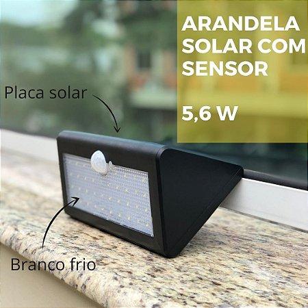 Arandela Solar com Sensor de presença
