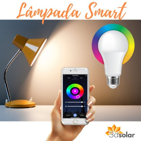 Lâmpada Smart Wi-fi Led 7w Colorida Rgb E Branco - Bivolt ⭐️⭐️⭐️⭐️⭐️