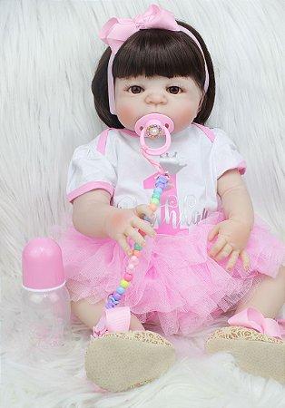 Bebê Reborn Giovanna - PRONTA ENTREGA