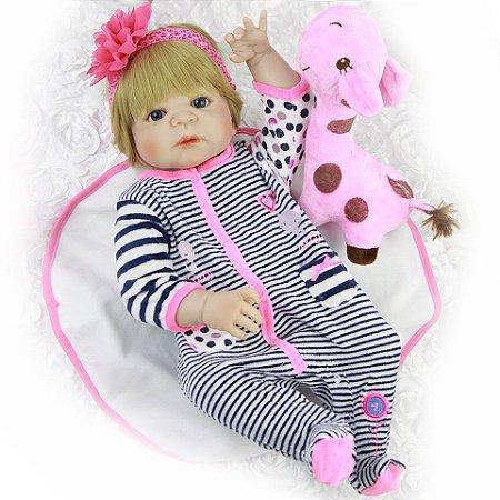 Bebê Reborn Mariah - PRONTA ENTREGA