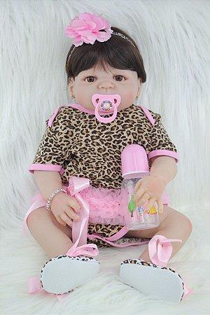 Bebê Reborn Leonor - PRONTA ENTREGA