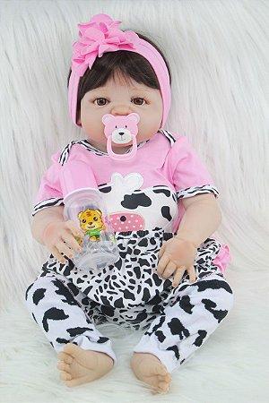 Bebê Reborn Amanda Rosa