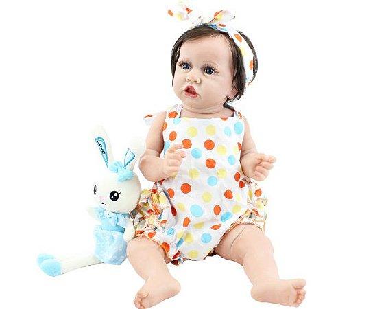 Bebê Reborn Cibele - Pronta entrega