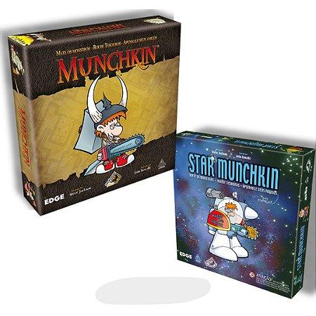 Munchkin e Star Munchkin - Galápagos jogos