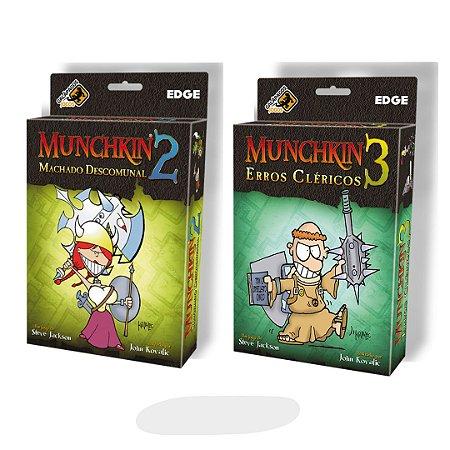Munchkin 2 e 3 - Galápagos jogos