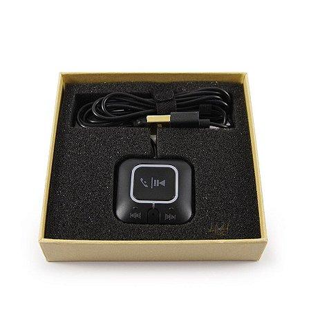 Adaptador Receptor Bluetooth 4.0 para Carro - Atende Chamadas