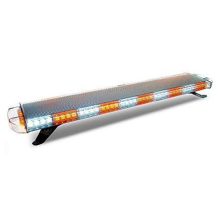 Giroflex Profissional LED Duplo - Plataforma Guincho Reboque Sinalizacao - 118cm 12V-24V