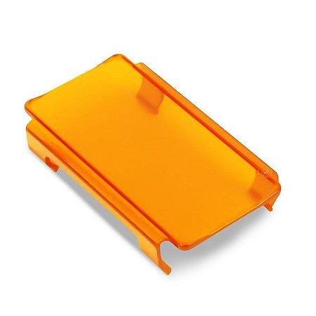 Lente Ambar p/ Barra de LED 2 Linhas 15cm Und - Neblina Atenção Sinalização