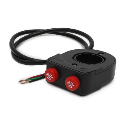 Controle Duplo - Interruptor Guidão Moto - 2 Funções