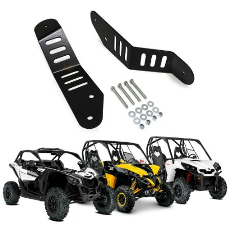 Suporte p/ Barra  LED 42 Pol - Can Am Maverick XRS 1000R, X3, Commander -  Par