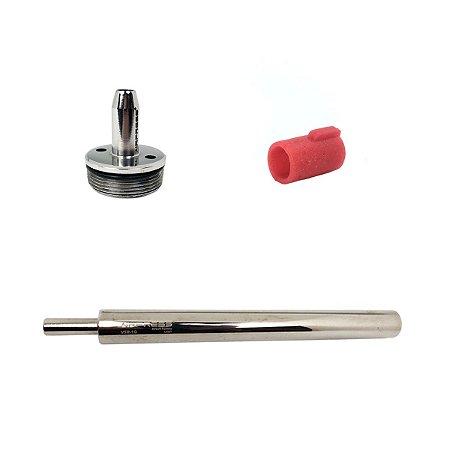 Kit Airpress VSR-10 Cilindro niquelado + Cabeça de cilindro cônica + Bucking