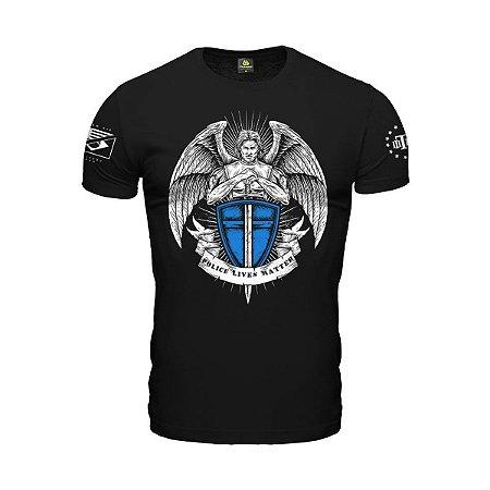 Camiseta estampada Police Lives Matter- Team six