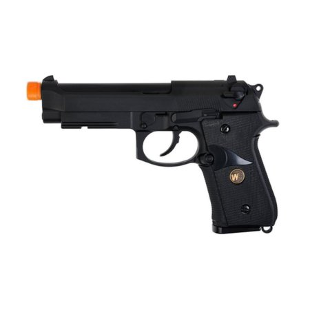 Pistola de airsoft Beretta M9 Black WE á gás (GBB) Blowback/Full metal - Cal. 6mm