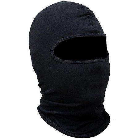 Balaclava preta Ninja 1 furo