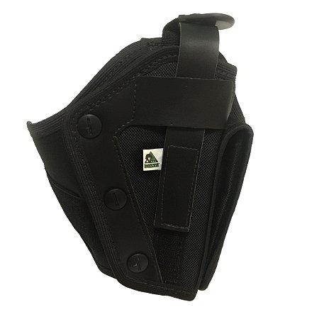 Coldre de perna COP Preto (com porta carregador) - Delta militar