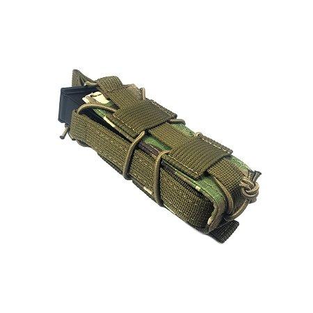 Bolso modular Bravo Gear porta magazine de Pistolas - Multicam