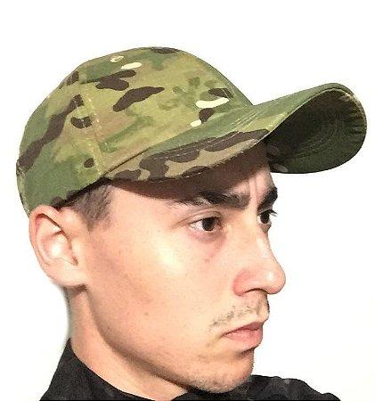 Boné tático camuflado Bravo - Multicam