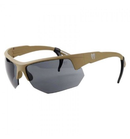 Óculos tático Spartan Marcos do Val (Lente preta + Lente amarela) - Coyote