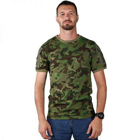 Camiseta T-shirts Ranger Bélica Com bolsos - Tropical