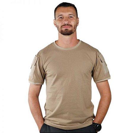 Camiseta T-shirts Ranger Bélica Com bolsos - Coyote
