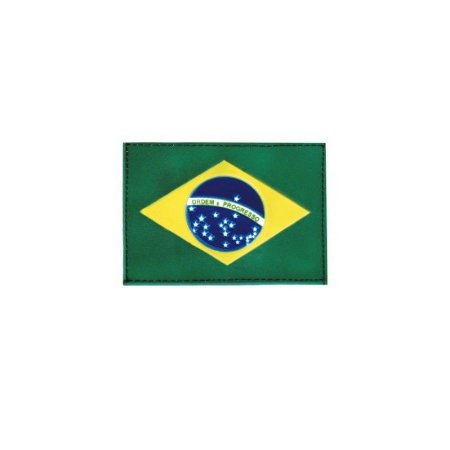 Patch emborrachado bandeira do Brasil