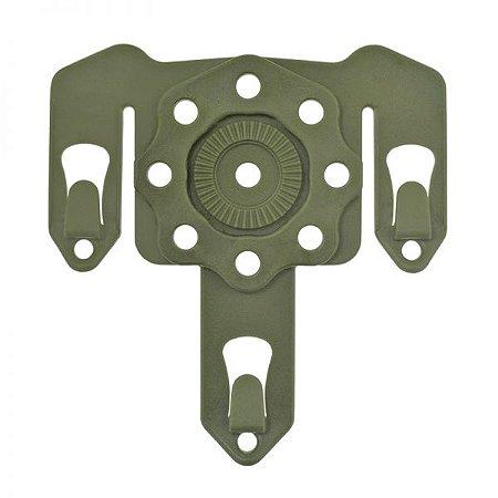 Adaptador modular Strike Bélica - Verde oliva