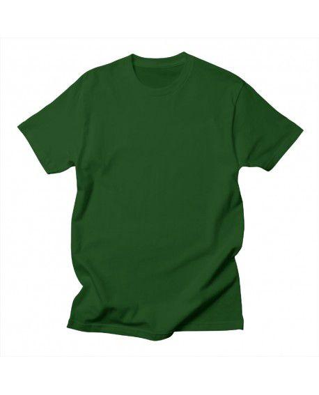 Camiseta Verde oliva malha lisa