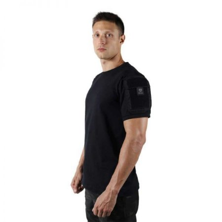 Camiseta T-shirts Ranger Bélica Com bolsos - Preta