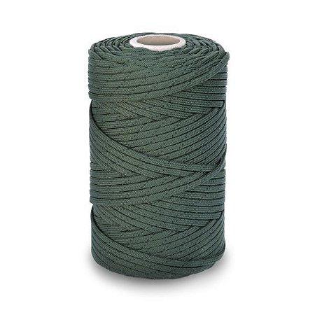 Rolo de cordão Velame 100 metros - Verde/Preto