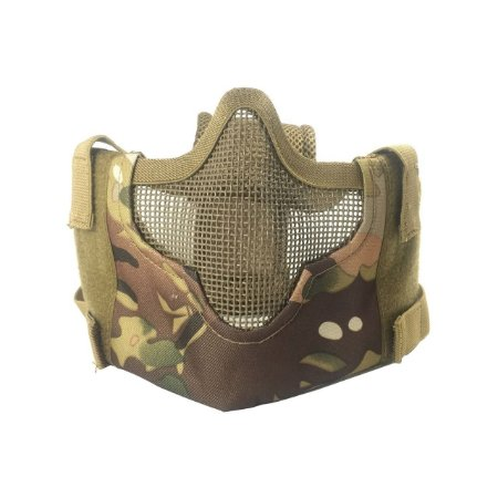 Máscara meia face telada Confort camuflada - EVO