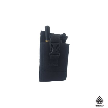 Bolso modular porta rádio Police Warfare - Preto