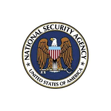 Adesivo National Security Agency USA