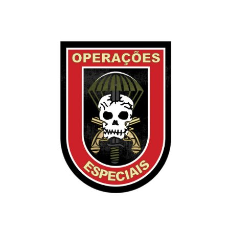 Adesivo operações especiais