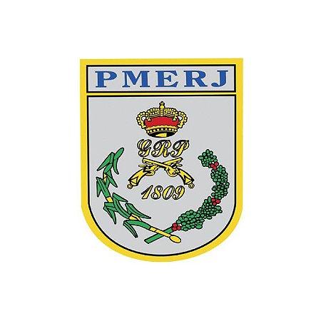 Adesivo Polícia militar do Estado do Rio de Janeiro PMERJ