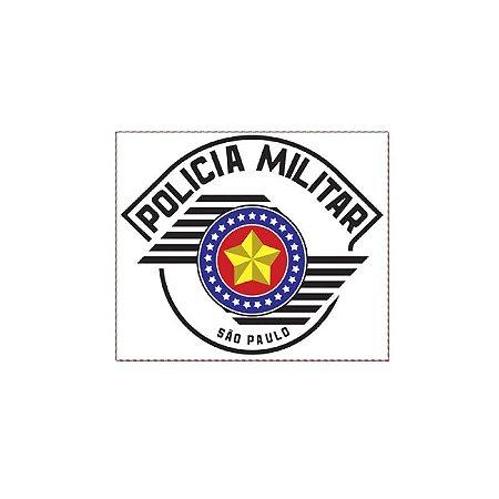 Adesivo Polícia militar do estado de São Paulo PMSP