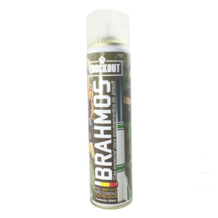 Cilindro Green gás Brahmos Knockout 430ml